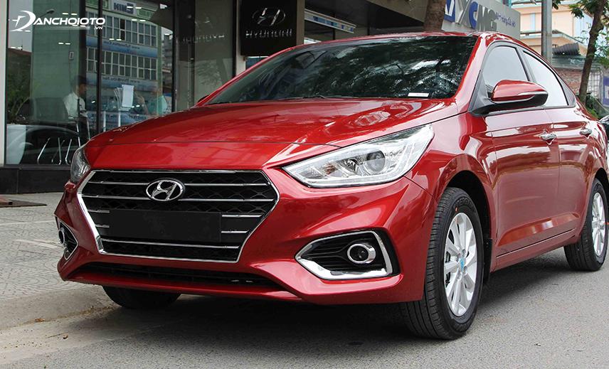 """Lưới tản nhiệt """"thác nước"""" mới của Hyundai Accent 2018 - 2019"""