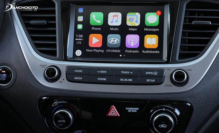 Nhiều trường hợp xe Accent từ đời 2018 gặp lỗi màn hình trung tâm tự khởi động