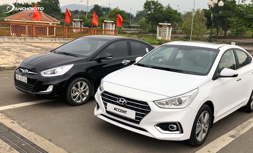 So với thế hệ cũ, Hyundai Accent thế hệ mới thay đổi ngoạn mục