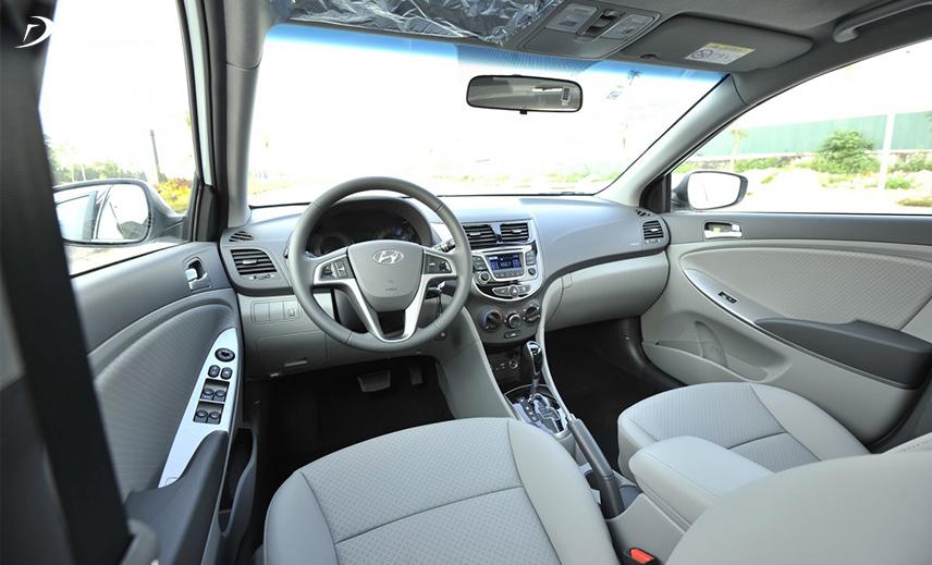 Thiết kế taplo xe Hyundai Accent thế hệ thứ 4