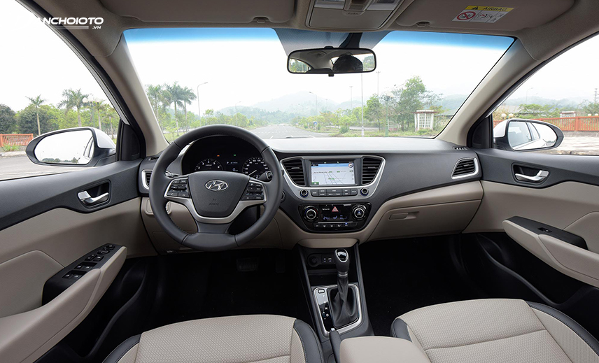 Thiết kế taplo xe Hyundai Accent thế hệ thứ 5