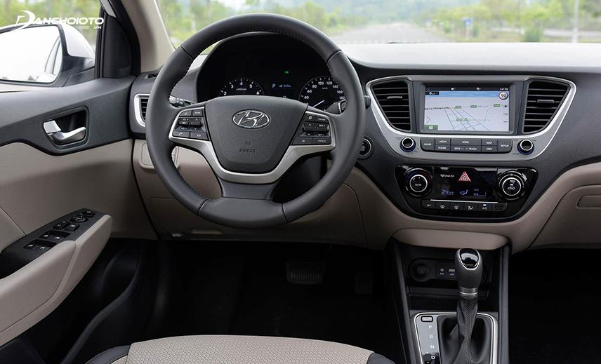 Vô lăng Hyundai Accent 2018 - 2019