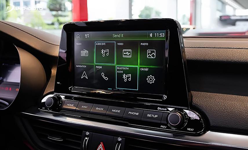 Kia Cerato 2019 - 2020 được trang bị màn hình cảm ứng 8 inch