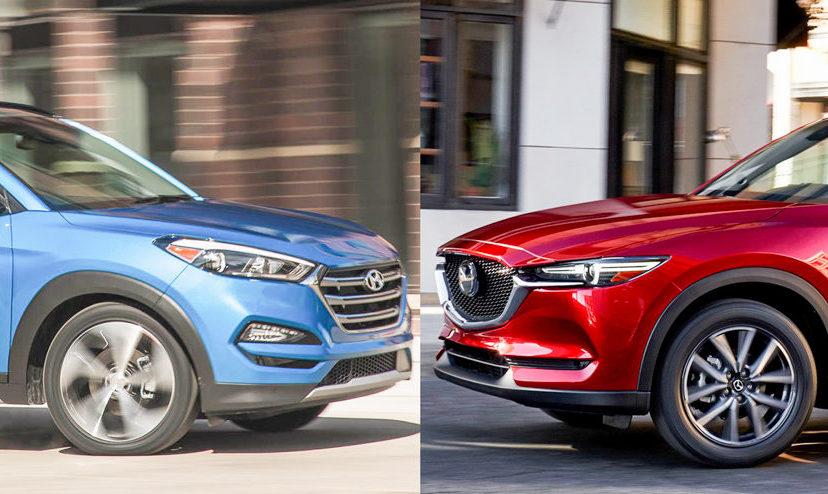 So sánh Mazda CX-5 và Hyundai Tucson: Crossover 5 chỗ nào tốt nhất cho gia đình?