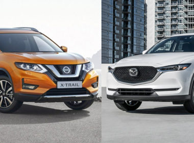Nissan X-Trail 2018 và Mazda CX-5 2018 Mẫu crossover nào đáng giá hơn?