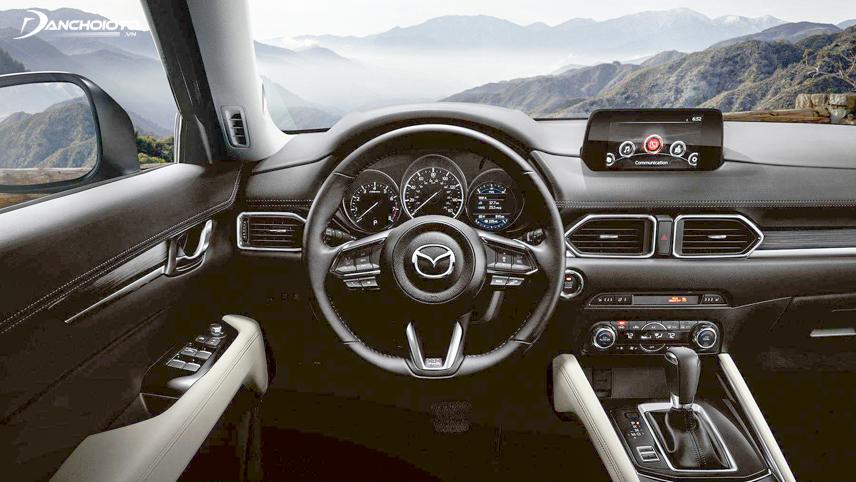 Nội thất Mazda CX-5 2018 được thiết kế theo phong cách của những chiếc xe châu Âu