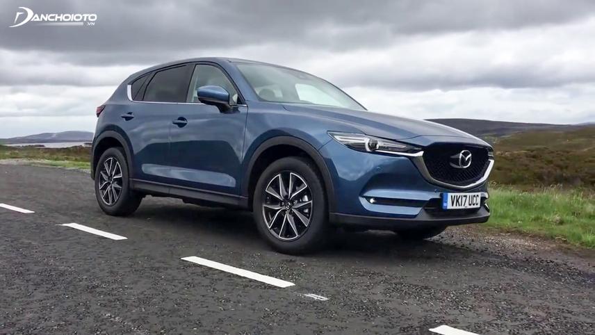 Thiết kế ngoại thất của Mazda CX-5 được đánh giá cao hơn X-Trail 2018