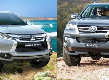 Toyota Fortuner 2018 và Mitsubishi Pajero Sport 2018: Đấu thủ Nhật đối đầu trong phân khúc SUV 7 chỗ