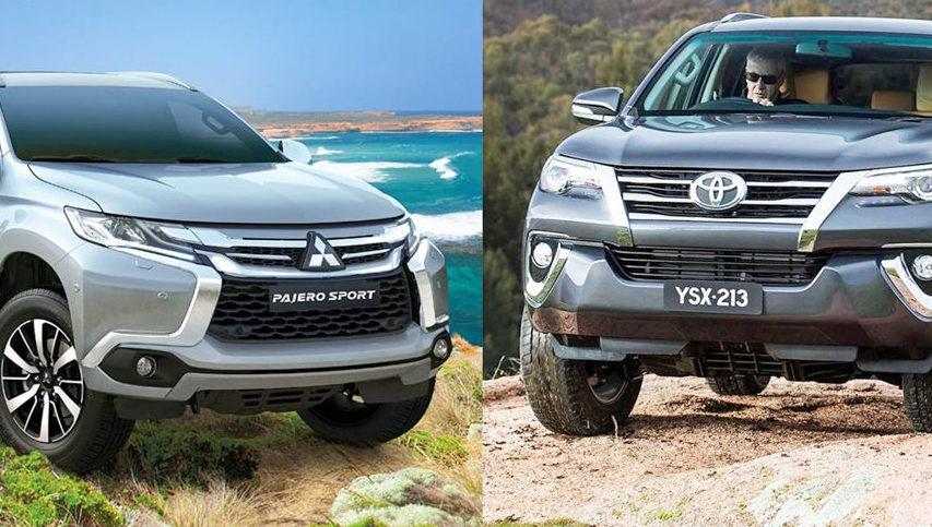 """So sánh Toyota Fortuner và Mitsubishi Pajero Sport: Xe nào """"ngon"""" hơn?"""