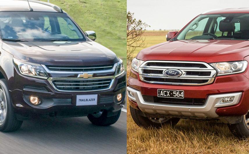 """So sánh Chevrolet Trailblazer và Ford Everest: """"Chàng cao bồi"""" nào dành cho bạn?"""