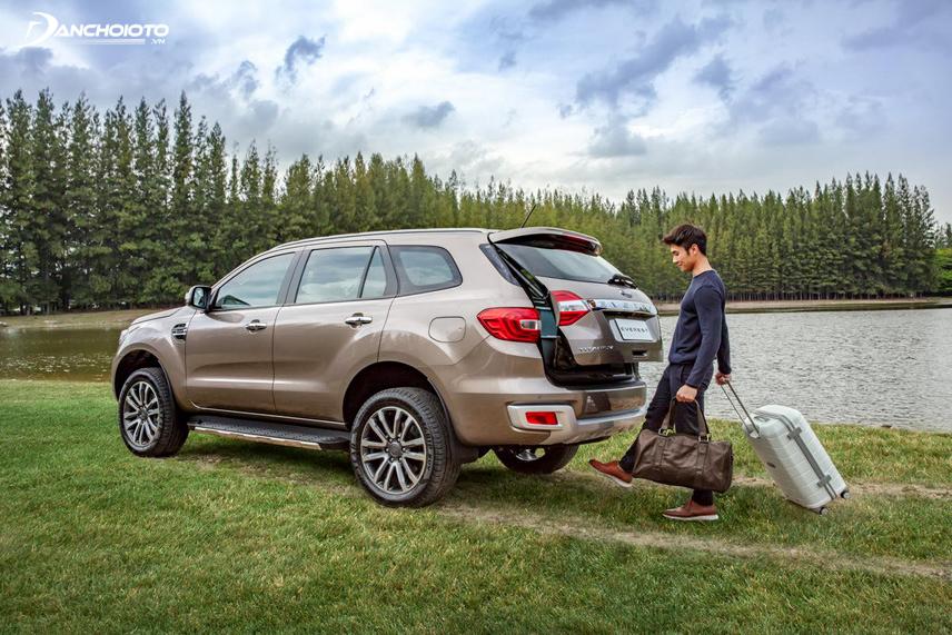 Ford Everest 2018 bản facelift với nhiều điểm mới