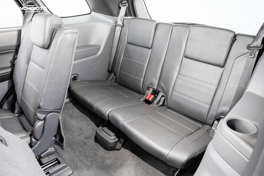 Hệ thống ghế ngồi của Ford Everest 2018