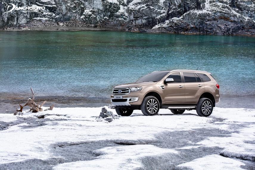 Khả năng vận hành của Ford Everest 2018 khá tốt trên nhiều loại địa hình