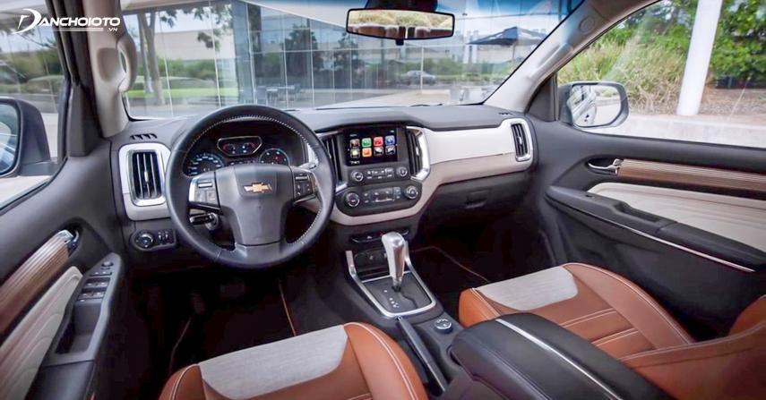 Khoang lái Chevrolet Trailblazer 2018