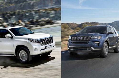 Toyota Land Cruiser Prado 2018 và Ford Explorer 2018: Nên chọn xe Nhật hay xe Mỹ?