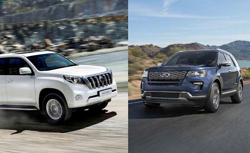 Nên mua Toyota Land Cruiser Prado hay Ford Explorer?
