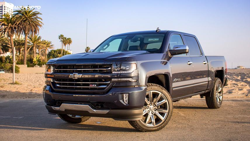 Chevrolet Silverado 2018 sử dụng thép cường lực cho khung thân