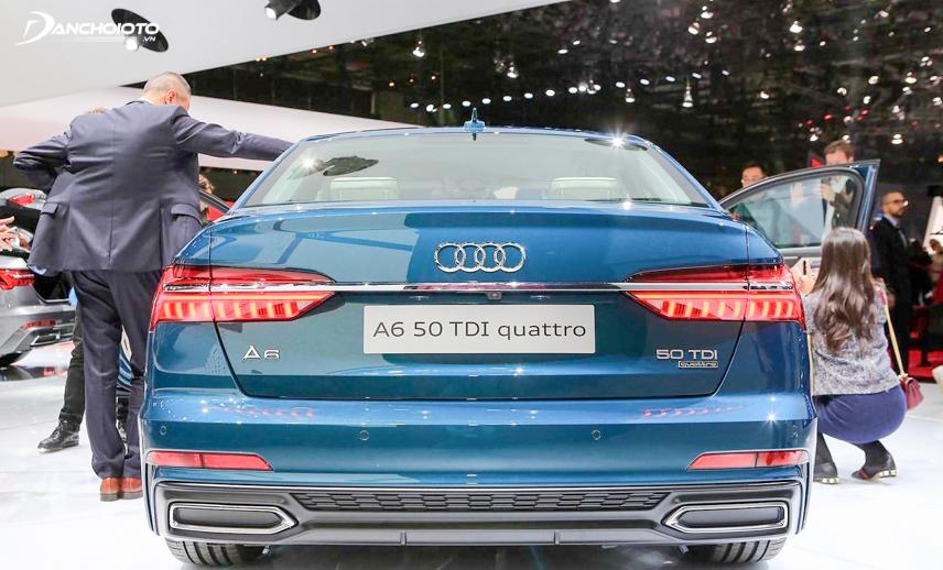 Phần đuôi đậm chất thể thao của Audi A6