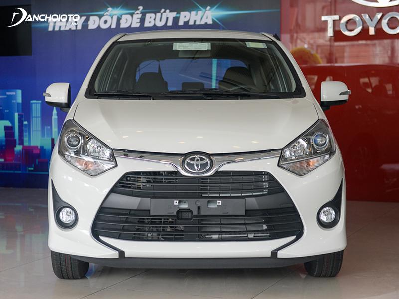 Thiết kế đầu xe Toyota Wigo 2020