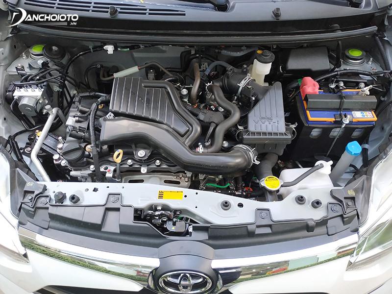 Toyota Wigo 2020 trang bị động cơ 1.2 lít