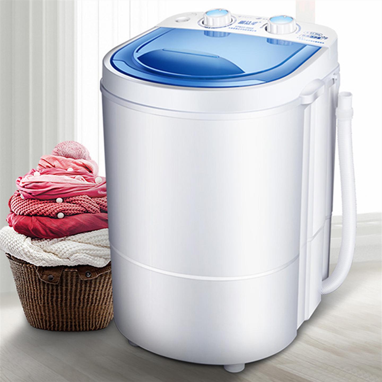 Máy giặt mini bán tự động có chức năng vắt