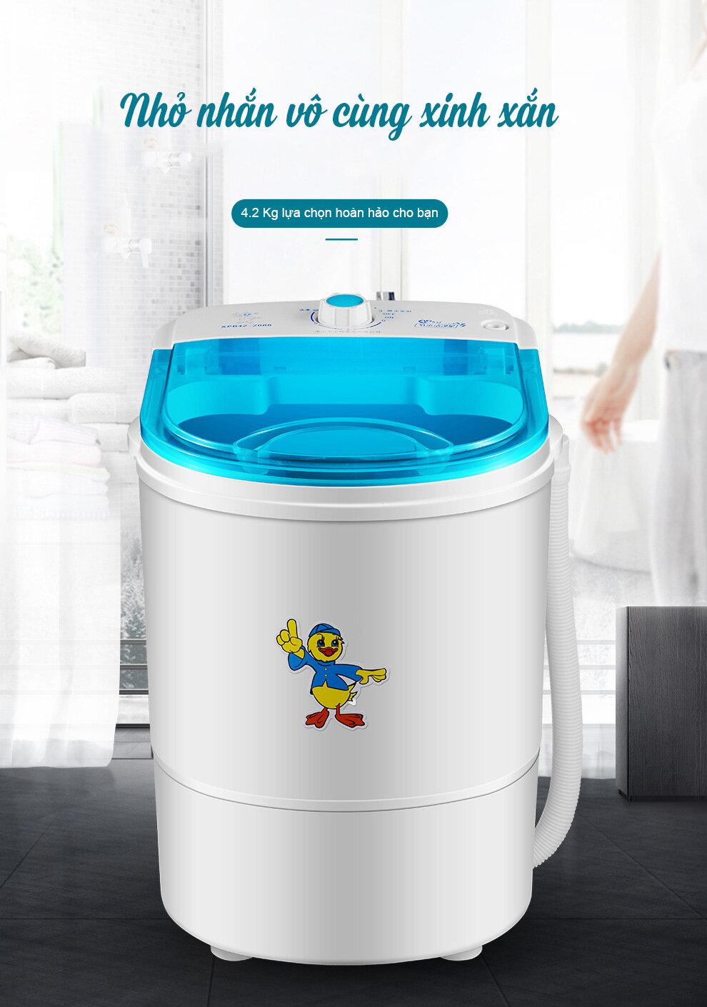 Máy giặt mini có thiết kế nhỏ gọn