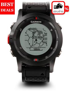 นาฬิกานำทาง GPS GARMIN รุ่น Fenix 1 สีดำ