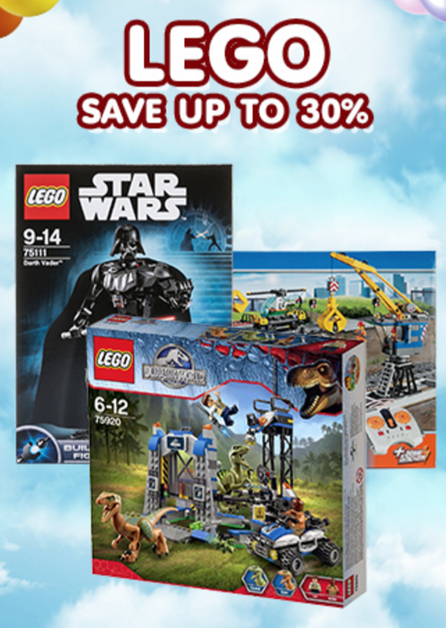Lego! from Central Online with 3% Cashback from Dealcha! Thailand