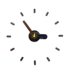 นาฬิกาติดผนัง GOODUSE รุ่น LINEBK เข็มนาฬิกาสีดำ