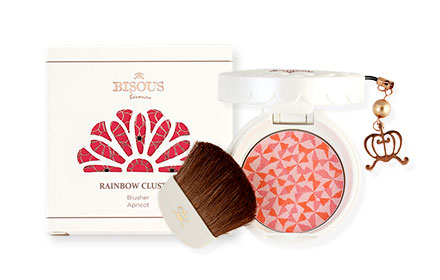 Bisous Bisous Rainbow Cluster Blusher #3 APRICOT 4.5g