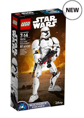 LEGO ตัวต่อเสริมทักษะ คอนสทรัคชัน สตาร์ วอร์ส เฟิร์ส ออเดอร์ สตอร์มทรูเปอร์
