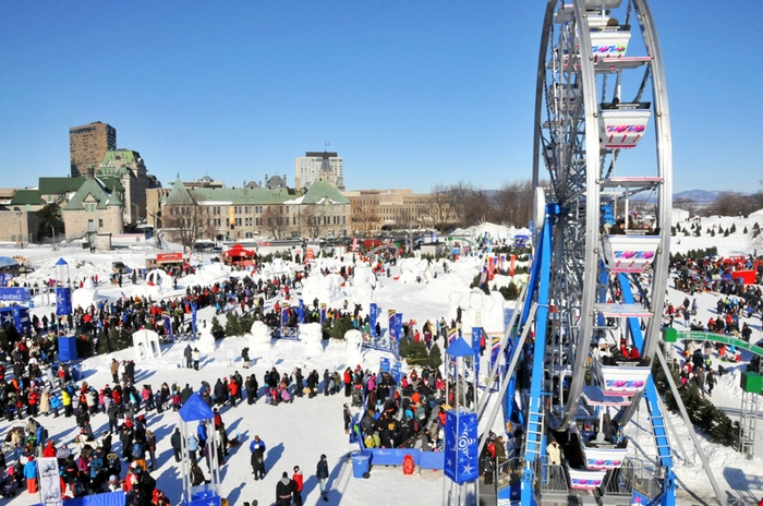 Quebec Winter Carnival Carnaval de Québec Canada