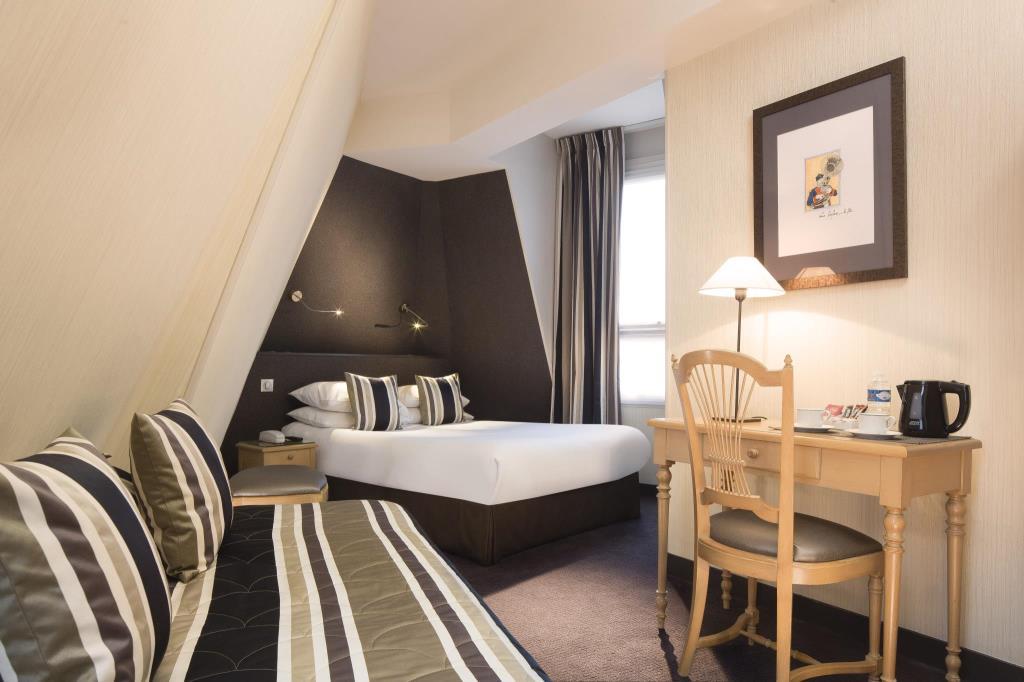โรงแรม ปารีส Hotel Albert 1er