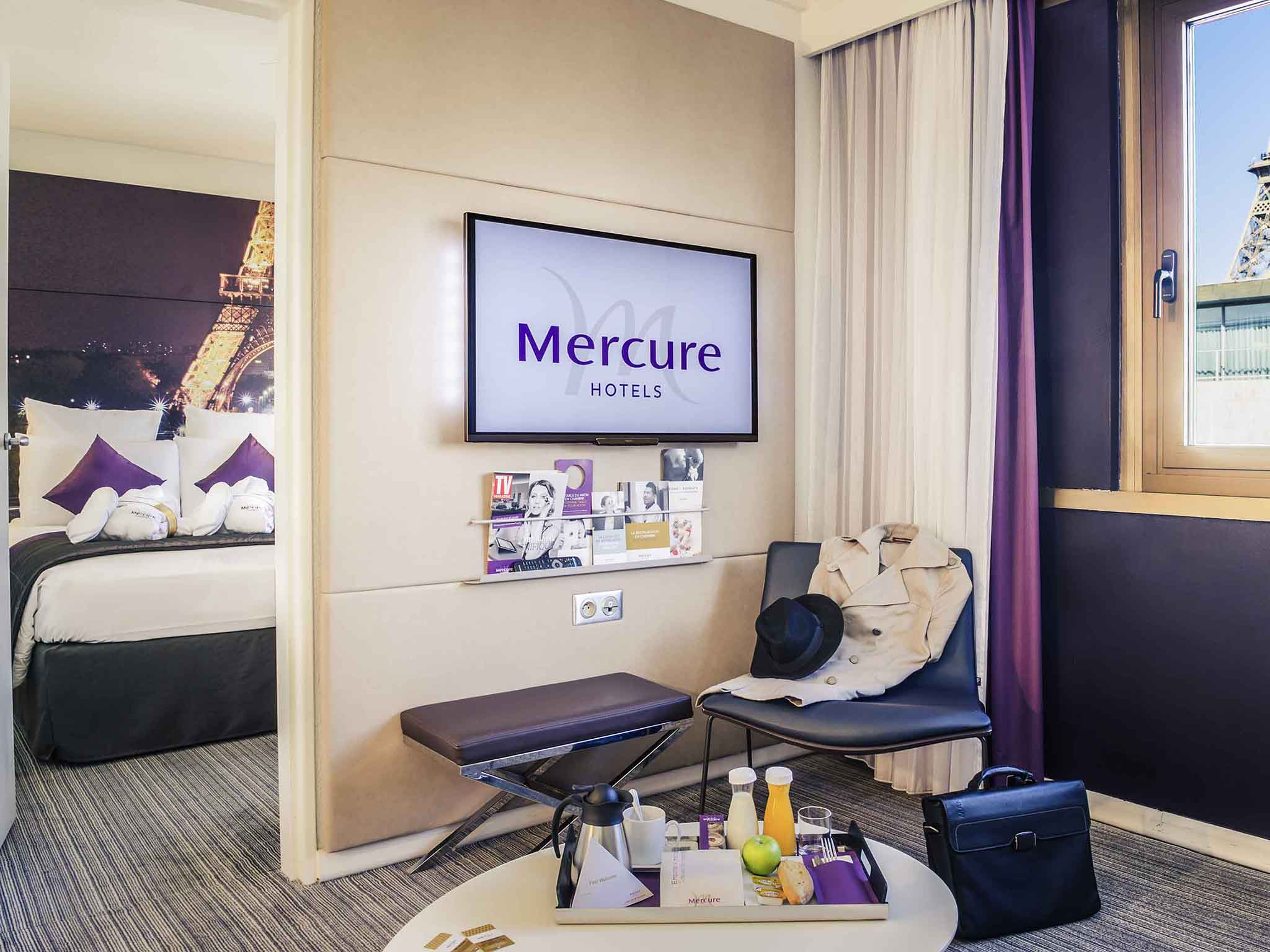 โรงแรม ปารีส Mercure Paris Centre Tour Eiffel