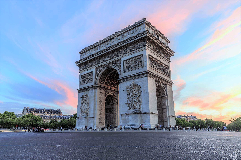 Arc de Triomphe ประตูชัยนโปเลียน