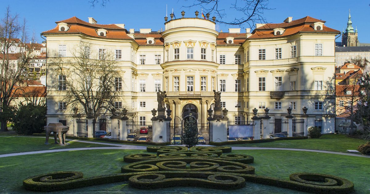 Lobkowicz Palace พระราชวังล็อบโควิคซ์ กรุงปราก