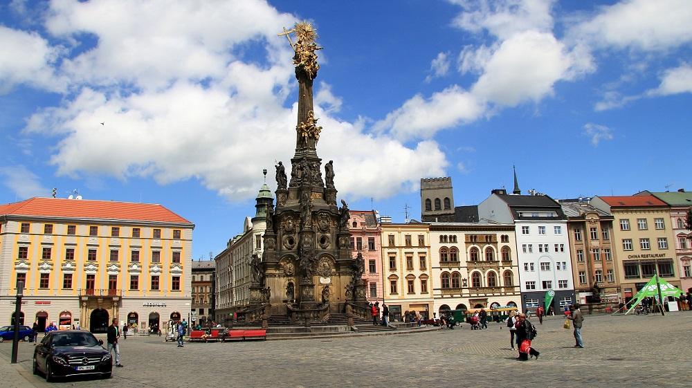 Holy Trinity Column in Olomouc เสาพระตรีเอกภาพแห่งโอโลมูซ กรุงปราก