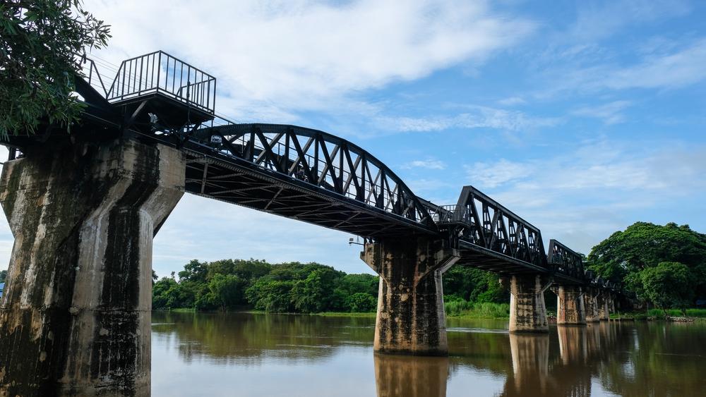 สะพานข้ามแม่น้ำแคว เที่ยว เมืองกาญ