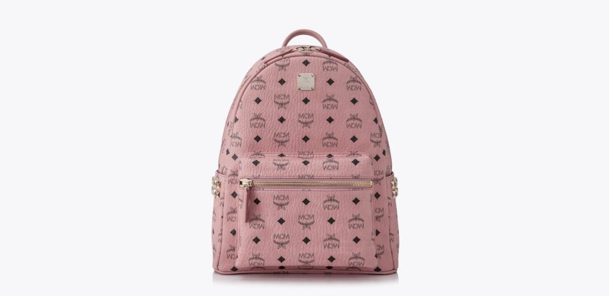 MCM Side Stud Stark Medium Backpack