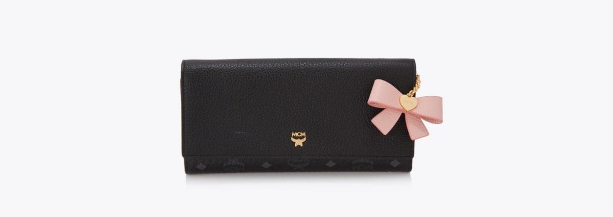 Visetos Mina Three Fold Wallet MCM