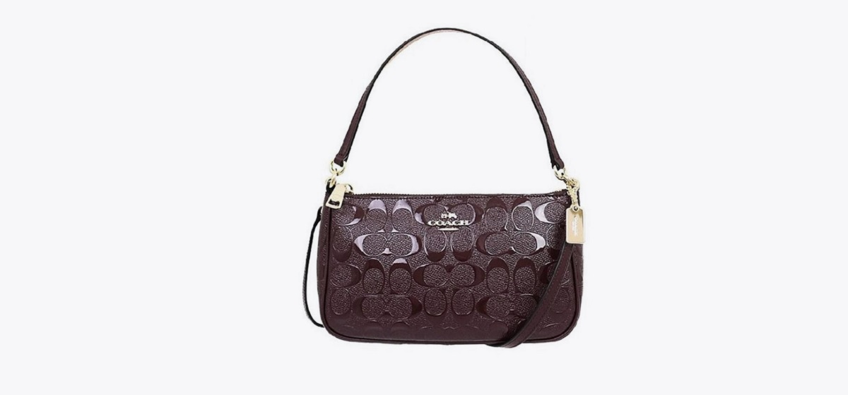 COACH F56518 Top Handle Pouch In Signature