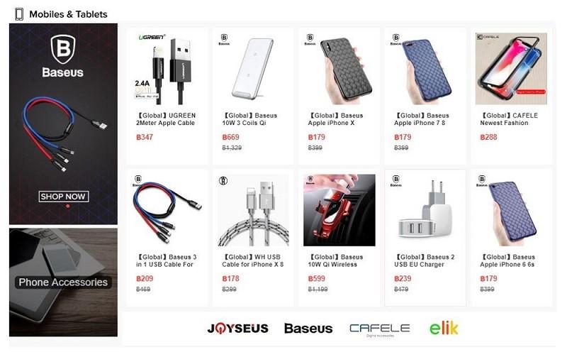 โทรศัพท์ มือถือ Smartphone แท็บเล็ต ราคาถูก