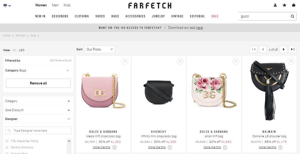 โปรโมชั่น Farfetch