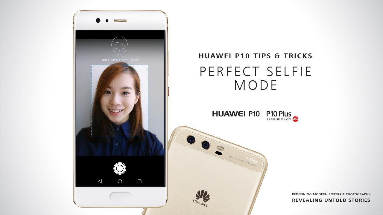huawei rear camera selfie กล้องหน้า