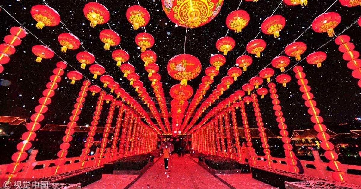 ที่เที่ยว ตรุษจีน จีน
