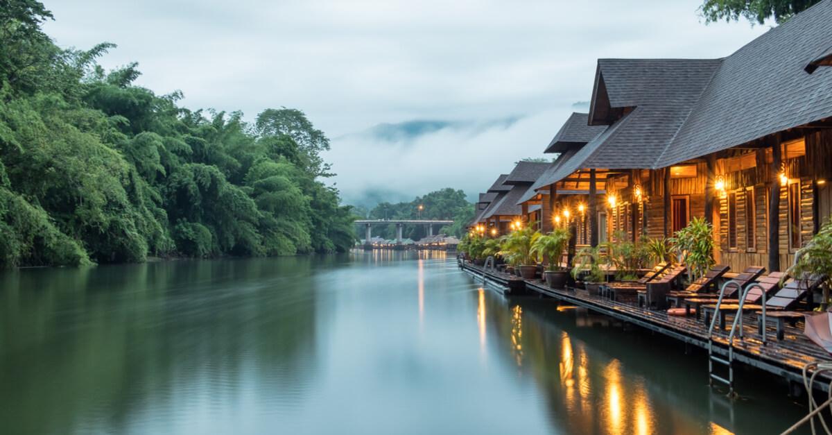 สะพานแม่น้ำแควน้อย จ.กาญจนบุรี