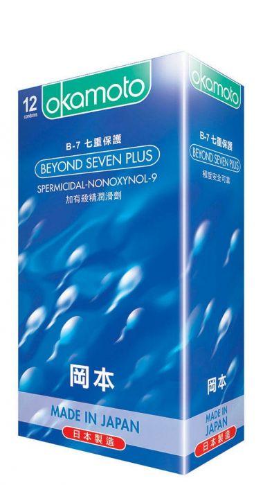 ถุงยาง Okamoto Beyond Seven Plus