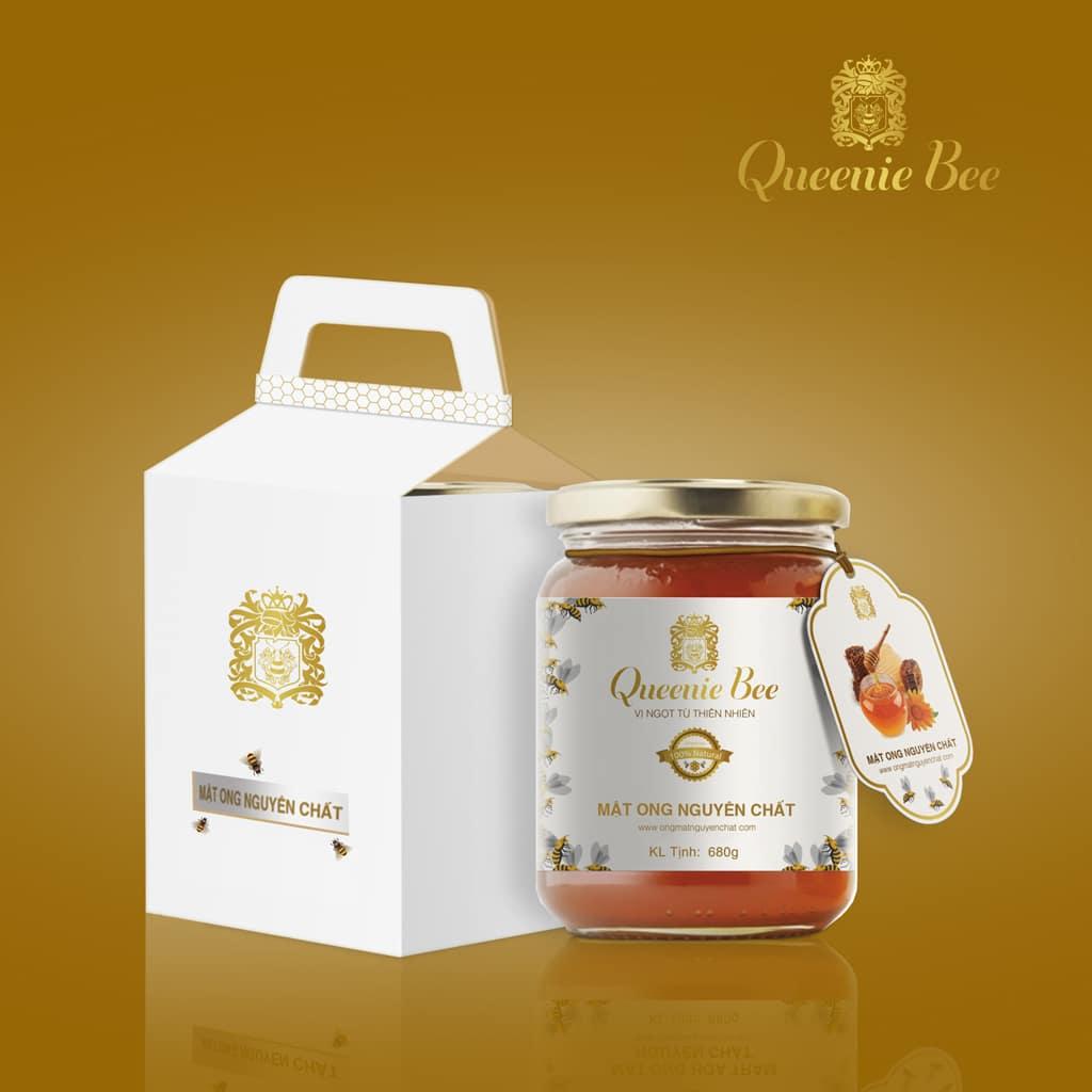 Thiết kế Tem mật ong Queenie Bee