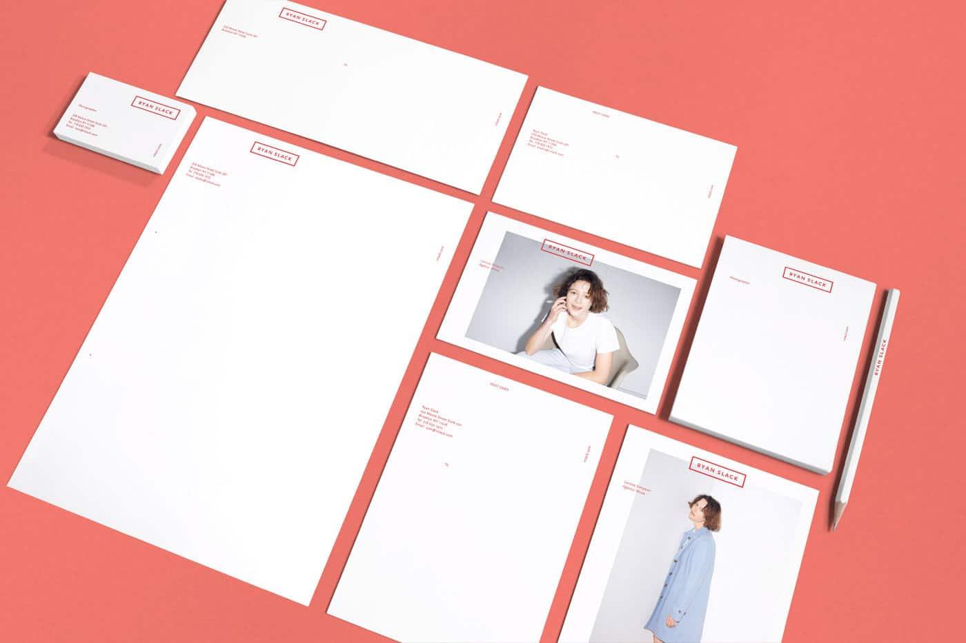 Hình ảnh trong tiêu đề màu thư được sáng tạo đơn giản