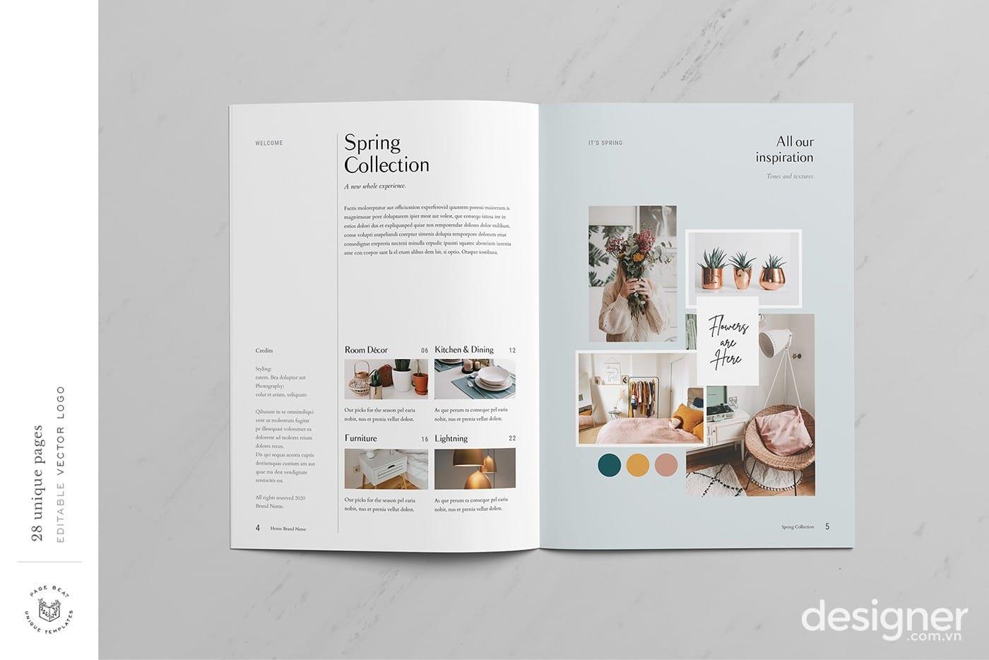 Mẫu Catalogue VIP